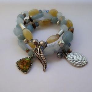 Blue Bracelet Trio